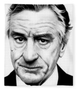 Robert Deniro  Fleece Blanket