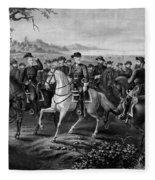 Robert E. Lee And His Generals Fleece Blanket