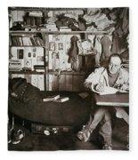 Robert Falcon Scott Fleece Blanket