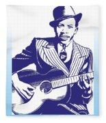 Robert Johnson Fleece Blanket