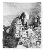 Robert Koch, German Bacteriologist Fleece Blanket