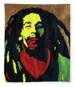 Robert Nesta Marley Fleece Blanket