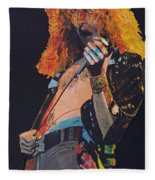 Robert Plant Fleece Blanket
