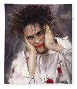 Robert Smith - The Cure Fleece Blanket