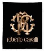 Roberto Cavalli Fleece Blanket