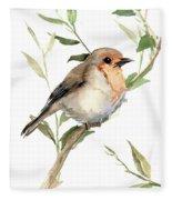 Robin Fleece Blanket