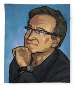Robin Williams Fleece Blanket