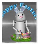 Robo-x9 The Easter Bunny Fleece Blanket