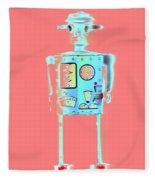 Robot 4 Fleece Blanket