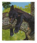 Rock-a-bye-baby/the Wild Bunch #2 Fleece Blanket