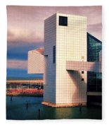 Rock And Roll Hall Of Fame Fleece Blanket