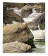 Rock Creek Snow Melt Fleece Blanket