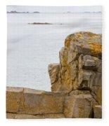 Rock Face Fleece Blanket