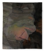 Rock Face Fleece Blanket