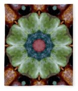 Rock Flower Fleece Blanket
