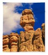Rock Formations, Bryce National Park Fleece Blanket