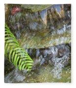 Rock Fountain Fleece Blanket