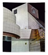 Rock Music Hall Of Fame Fleece Blanket
