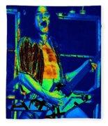 Rock 'n' Roll The Cosmic Blues Fleece Blanket