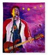 Rock On Tom Fleece Blanket