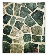 Rock Wall 01 Fleece Blanket