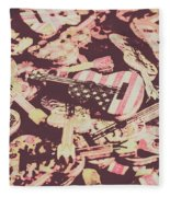 Rock World Tour Fleece Blanket