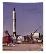 Rocket Garden Fleece Blanket