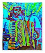Rockin' The Blues Blues Fleece Blanket