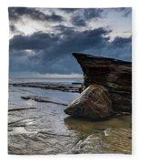 Rockin The Seascape Fleece Blanket