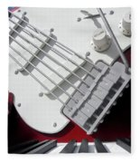 Rock'n Roller Coaster Aerosmith Fleece Blanket