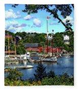 Rockport Harbor Fleece Blanket
