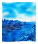 Rocks And Hard Places Fleece Blanket