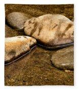 Rocks At Rest Fleece Blanket