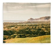 Rocky Capes And Rugged Coasts Fleece Blanket