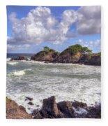 Rocky Island Fleece Blanket