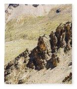 Rocky Landscape - 3 - French Alps Fleece Blanket