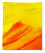 Rocky Landscape 122010 Fleece Blanket