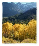 Rocky Mountain High Colorado - Landscape Photo Art Fleece Blanket