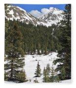 Rocky Mountain High Fleece Blanket