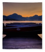 Rocky Mountain Magic - Seveneleven Fleece Blanket