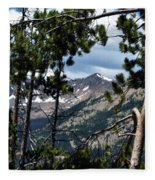 Rocky Mountain National Park 3 Fleece Blanket