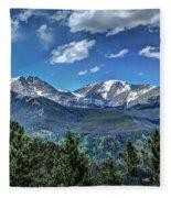 Rocky Mountain National Park IIi Fleece Blanket