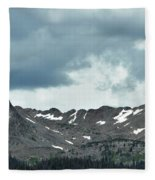 Rocky Mountain National Park Fleece Blanket