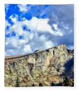 Rocky Mountain Summit Fleece Blanket