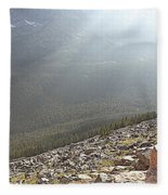 Rocky Mountain Sunbeam II Fleece Blanket