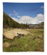 Rocky Mountain Valley Fleece Blanket