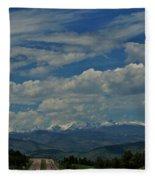 Colorado Rocky Mountain High Fleece Blanket