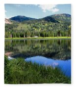 Rocky Mountains Majesty Fleece Blanket