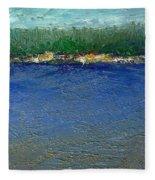 Rocky Point Dream At Bass Lake Fleece Blanket
