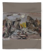 Rocky River Fleece Blanket
